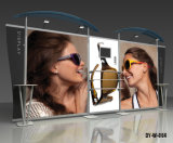 Suporte de chão Modular de alumínio para publicidade de Exibição de exposições