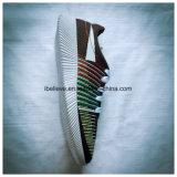 [ستيتش-وورك] بناء حذاء فرعة حذاء مع [بفك] حقنة بيضاء أو نعل سوداء