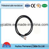 Câble électrique enduit et par gaine échoué de PVC du prix usine 3X1.5mm, port de Ningbo (RVV)