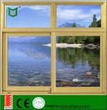 Singolo profilo di alluminio di verniciatura Windows e finestra di scivolamento fatta in Cina