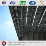 Hangar dos aviões da construção de aço da grande extensão