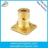 Kundenspezifische CNC maschinell bearbeitete Teile, Drehbank-Teile, CNC-Messingteile für breit Verbrauch