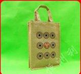 再使用可能で自然なワインの包装のバーラップのリネン麻のジュートのショッピング・バッグ