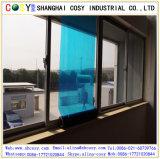 pellicola stampata calda della finestra del PVC personalizzata 1.22*5om di imballaggio flessibile con il buon autoadesivo