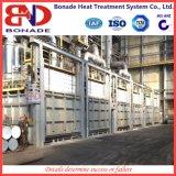 Fornace a forma di scatola professionale di trattamento termico del gas per ricottura