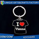 Anello portachiavi antico Keychains del metallo di figura della bottiglia di disegno