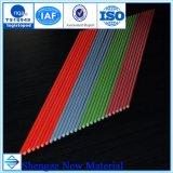 Bonne qualité de 3,5 mm 5 mm 4 mm 6 mm de 8mm 10mm 12mm tige ronde en fibre de verre FRP Tige ronde GRP tige ronde en fibre de verre en fibre de verre à barre ronde Round Pole Pole du drapeau en fibre de verre