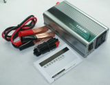 500W de Omschakelaar van de Macht van de Auto van gelijkstroom 12V AC 220V USB (qw-500MUSB)