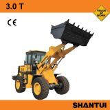 Shantui chargeur de roue de frontal de 3 tonnes