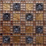 Crystal Resina Mista Mosaic, resina clássico mosaico de imagens em mosaico
