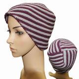 Fashion Acrylic Wool Knitted女性冬の帽子のベレー帽の帽子(YKY3114)