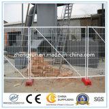 熱い浸された電流を通された一時塀または構築の金属の塀