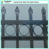 Cerca galvanizada fábrica FO los E.E.U.U. del hierro labrado del Faux de China