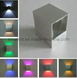 Indicatori luminosi interni fissati al muro dell'interno elettrici di Uplighter LED per la stanza da bagno