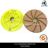 5 인치 Edge Polishing Pads Snail Lock Resin Disc
