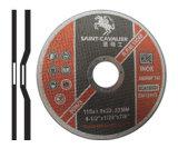 Depresed Centro abrasivo de corte de metal Roda 115X1.0X22.2