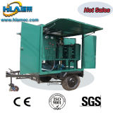 Alto Vácuo transportáveis a reciclagem do óleo isolante do transformador purificador de óleo