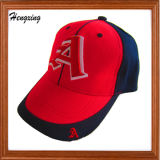 綿6つのパネルの刺繍の野球帽