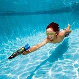 4PCS Toypedoの強盗のプールのダイビングのゲームの夏のセット