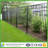 粉の庭のための上塗を施してある金属の塀
