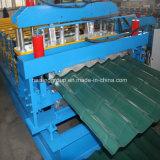 Rolo dobro do telhado da plataforma que dá forma à maquinaria