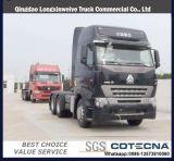 최신 판매 Sinotruk HOWO 6X4 371HP 원동기 트레일러 트럭