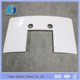 Shandong 6mm Extra Clear Curved Range Hoods Vidro
