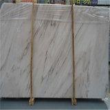 Lajes de mármore Madeira de cristal Madeira de mármore de mármore branco