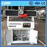 3 machine rotatoire de commande numérique par ordinateur de travail du bois de moteur servo de l'axe Ww0615s d'axe