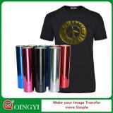 Precio de Qingyi y calidad perfectos del vinilo metálico del traspaso térmico de DIY para la camiseta