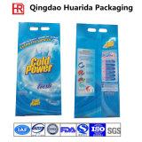Sacchetto laterale di plastica del detersivo dell'imballaggio del detersivo di lavanderia del laminato del rinforzo