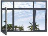 Порошок конкурентоспособной цены покрыл алюминиевое Опрокидывать-Поворачивает окно
