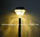 24LED - het Witte/Gele Lichte Licht van de Tuin van de Basis Zonne