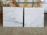Prezzo di marmo bianco Polished delle mattonelle di pavimentazione della parete della nuova pietra naturale della Cina