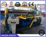 W11H-40X3000 quanlity alta rolos inferiores Arc-Adjust máquina de laminação de flexão da placa