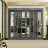 Внешняя раздвижная дверь Dorma алюминиевая стеклянная с дверью с защитной сеткой москита