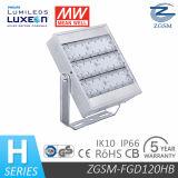 保証5年ののIP66 ULリストされた120W屋外LEDのフラッドライト