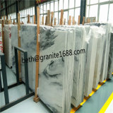 De douane sneed de Witte Marmeren Bewolkte Grijze Marmeren Plak van Tegels