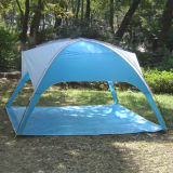 Plage de la plage de tentes abris portatifs