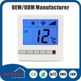 Termostato centrale intelligente del condizionamento d'aria della bobina alta del ventilatore