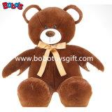 Weichster Brown-Baby-Teddybär mit Farbband ist förderndes Geschenk