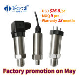 Jfa700 4-20mA numérique de type petit tuyau d'eau d'huile /Capteur de pression de réservoir d'eau