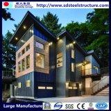 UL, a SGS, BV Estrutura de aço leve Prefab titulados Villa