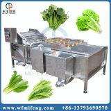 Máquina de la arandela de las verduras frescas del acero que se lava inoxidable de la limpieza automática de la fruta