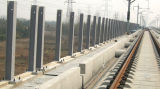 Auto-estrada de policarbonato de alta qualidade na parede da barreira de som