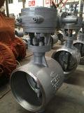 Червячная передача работает Wcb ГОСТ двухстворчатый клапан