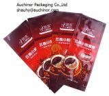 Douane die de Opnieuw te gebruiken Plastic Tribune van de Verpakking van het Voedsel op de Zak van de Zak van de Koffie van de Ritssluiting afdrukken