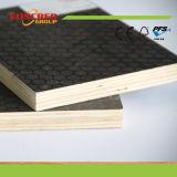 18mm Poplar / madera dura negro / Brown Película de contrachapado