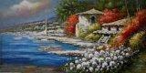Paisagem artesanais pinturas a óleo da Faca