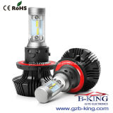 Sin ventilador G7 4000LM H13 Phi-Zes rotatorio de 360º Coche Faro LED